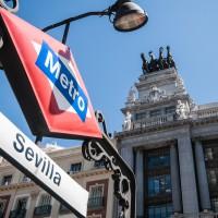 """Metrostation """"Sevilla"""""""