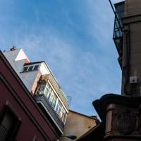 In den Straßen von Madrid