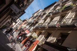 Straßenputz in Madrids Gassen
