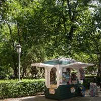 Kiosk im Park