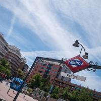 "Metrostation ""Ventas"""