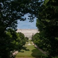 Campo del moro im Schlosspark