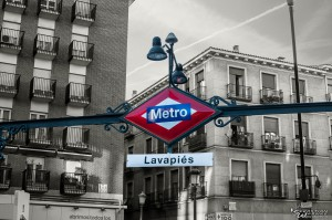 """Metrostation """"Lavapiés"""""""